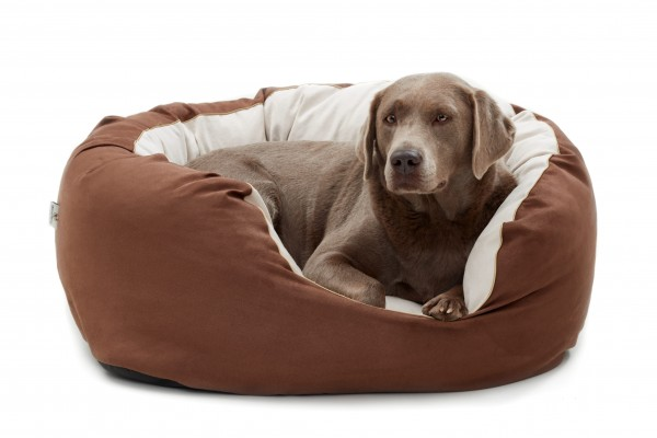 Woofery Hundebett Dorie aus Velours