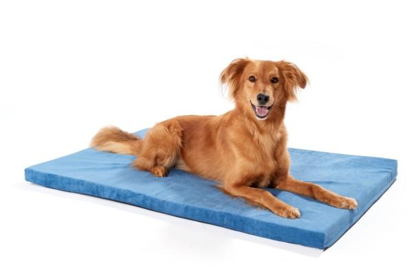 Woofery orthopädische Hundematte Basil aus Velours