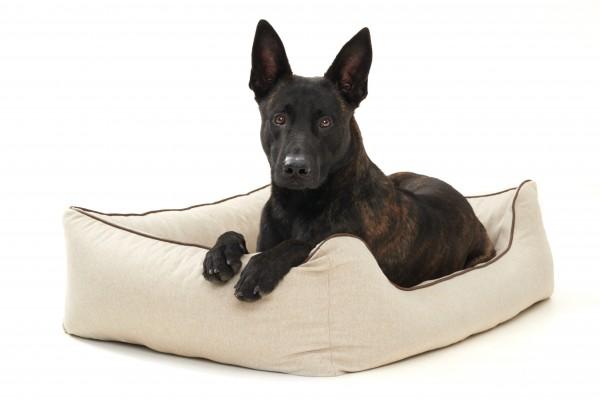 Woofery orthopädisches Hundebett Simba aus Velours
